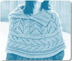 Free Knitting Patterns To Download Extraordinary Welcome To The Berroco Peruvia Quick Yarn Lace And Cables Capelet