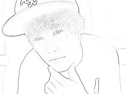 Small Picture Coloring Pages Justin Bieber