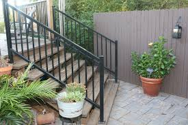 Wrought Iron Handrails Wrought Iron Handrails For Exterior Stairs 8 Wrought Iron Rails