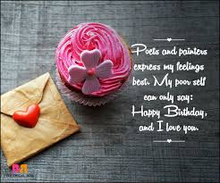 Happy Birthday Love Quotes Cool Love Words Happy Birthday Pansime