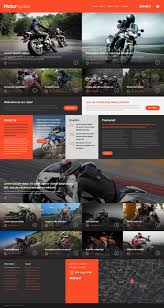 Motocross Web Template
