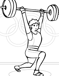Olympic Games Coloring Pages Print Color Craft Wurzen