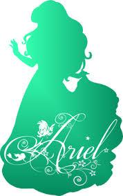Small Picture Ariel Silhouette Disney Princess Photo 37757451 Fanpop
