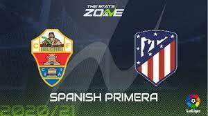2020-21 Spanish Primera – Elche vs Atletico Madrid Preview & Prediction -  The Stats Zone