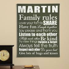personalized wall art beautiful expression of the simple rules that lead to a happy and contented family life wall decor ideas on personalized wall art gifts with wall art designs personalized wall art beautiful expression of the