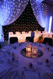 Starry Night Wedding Theme/Dr Who theme with different centre pieces