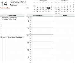 Agenda Excel Template – Imagemaker.club