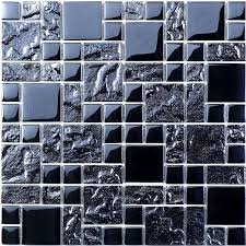ripple modular glass mosaic