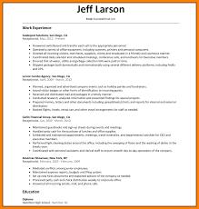 9 Receptionist Resume Letter Setup
