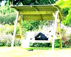 to the most brilliant along with beautiful wooden porch swing stand for really encourage lawn swings