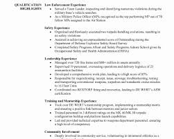 Police Officer Resume Examples Security Officer Resume Sample Objective Fresh Dissertation 94
