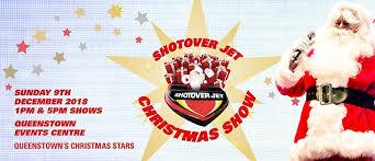 Shotover Jet Christmas Show Queenstown Eventfinda