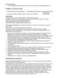 Sample Resume For Property Manager