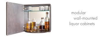 karvd walls wall mounted liquor cabinets