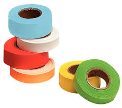 Color Coded Paper Tape L