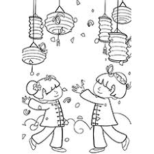 Small Picture Top 15 Chinese New Year Coloring Pages For Toddler