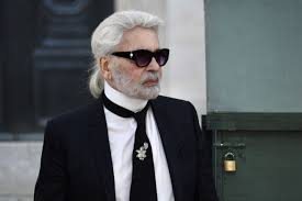 german fashion designer karl lagerfeld acknowledges the aunce at the end of the chanel 2018 2019 fall winter haute couture collection fashion show at the