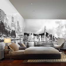 New York Behang Slaapkamer Elegant Slaapkamer Decoratie New York