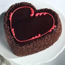 Special Heart Shape Chocolate Cake Online Cakegiftin