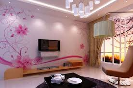 Wallpaper Decoration For Living Room Interior Elegant White Modern Interior Wallpaper Design With
