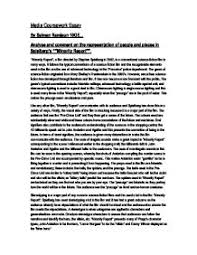 minority report essay gcse english marked by teachers com page 1 zoom in