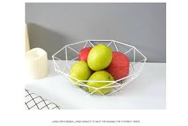 get ations a iron art fruit basket vegetable display stand metal market countertop tiered