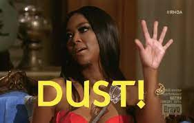 """Real Housewives Shot on Twitter: """"@KenyaMoore - """"#DUST"""" I do think I'm  going to start saying 'Dust' when someone is saying something i don't like  #RHOA http://t.co/ZBfd3rFPw0"""""""