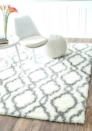 fuzzy fluffy rugs big white rug black plush area gy for medium