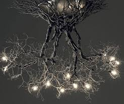 appealing tree light branch chandelier modern for dining room decor