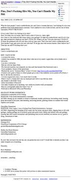 Completely Insane Resumes That May Actually Be Better Than Yours