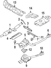 vw rabbit forum exhaust sleeve replacement volkswagen rabbit 1stvwparts exhaust diagram link