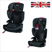 child car seat graco affix highback booster isofix latch system 4 12 years old