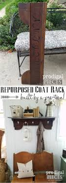 Repurposed Coat Rack Repurposed Coat Rack DIY by a PreTeen Prodigal Pieces 33