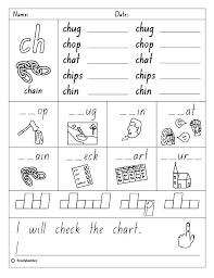 Consonant Digraphs Worksheets Consonant Digraph Worksheets