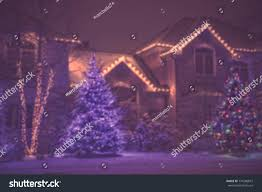Outdoor Seasonal Lights Seasonal Christmas House Lights Decoration Outdoor Stock