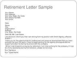Sample Letter To Clients Sample Retirement Letter To Clients Bitwrk Co