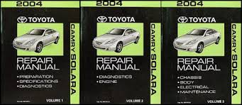 2004 toyota camry solara wiring diagram manual original related items