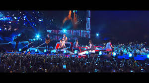 One Direction Concert Lights One Direction Where We Are Concert Film Clip Little Things