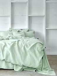 bedrooms for craigslist today designed by joanna gaines forest green sheets linen duvet cover 2
