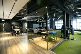 minimalist office design. Modern Office Space Design Minimalist Layout Warehouse Converted To Creative Offices . P