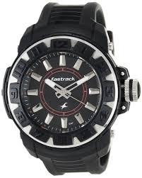 buy fastrack analog black dial men s watch ne9334pp02j online at buy fastrack analog black dial men s watch ne9334pp02j online at low prices in amazon in