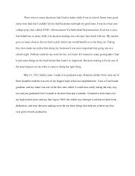 my high school graduation day essay graduation day essay personal narrative high school graduation