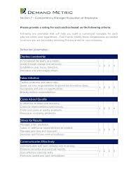 Checklist Job Performance Appraisal Benefit Plan Peer Employee