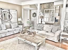 chic living room. Contemporary Farmhouse Chic Living Room Model