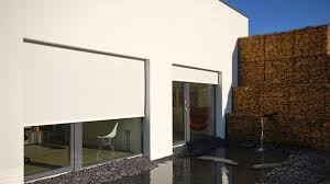 exterior blinds uk. external blinds fitted to the exterior of a passive house uk e