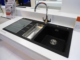 awesome black sink white countertop 13 best kitchen reno image on idea you can find