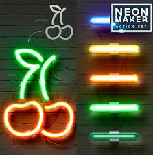 Custom Neon Sign Generator Neon Styles And PSD Mockups For Photoshop PSDDude 20