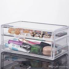 2018 2016 new custom acrylic drawers acrylic makeup organizer 2 drawers acrylic makeup organizer your best choice from peterleong 148 75 dhgate