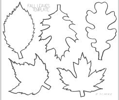 Leaves Template Under Fontanacountryinn Com