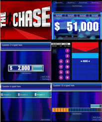 Table Online Game The Chase Game Show Powerpoint